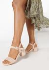 Beżowe Sandały Nonadelia