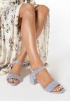 Niebieskie Sandały Nonadelia