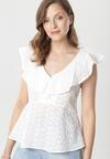 Biała Bluzka Shacora