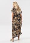 Beżowa Sukienka Calypsa