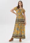 Żółta Sukienka Alya
