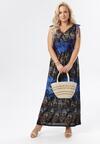 Niebieska Sukienka Eurybe