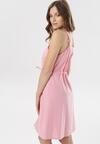 Różowa Sukienka Adrielori