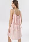 Jasnoróżowa Sukienka Emmelyne
