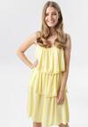 Żółta Sukienka Emmelyne