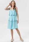 Jasnoniebieska Sukienka Emmelyne