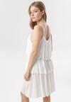 Biała Sukienka Emmelyne