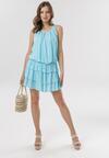 Jasnoniebieska Sukienka Arecel