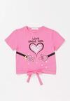 Różowa Koszulka Daphlaeno