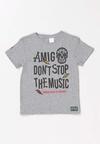 Szary T-shirt Orinea