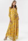 Żółta Sukienka Coromellia