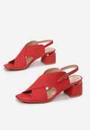 Czerwone Sandały Delmatina