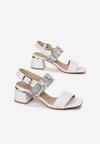 Białe Sandały Phinoire