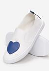 Biało-Niebieskie Tenisówki ofundity Heart
