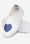 Biało-Niebieskie Slip On Innervate