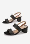 Czarne Sandały Maryrah