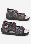 Czarne Sandały Melosura