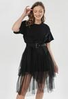 Czarna Sukienka Nedarea