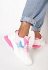 Biało-Fuksjowe Sneakersy Bollinea