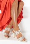 Beżowe Sandały Dorianna
