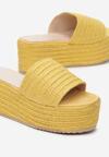 Żółte Klapki Arridenah