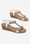 Białe Sandały Wanda