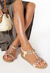 Beżowe Sandały Wanda