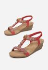 Czerwone Sandały Wanda