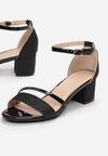 Czarne Sandały Nedarea