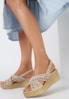 Beżowe Sandały Betty