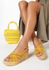 Żółte Sandały Betty