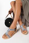 Czarne Sandały Euphemeia