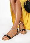 Czarne Sandały Jenyrial