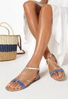 Niebieskie Sandały Jenyrial