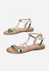 Zielone Sandały Jenyrial