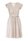 Jasnobeżowa Sukienka Blot