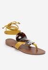 Żółte Sandały Valsharess