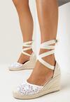 Białe Sandały Danadise