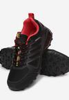 Czarno-Czerwone Buty Sportowe Arridenah