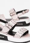 Różowe Sandały Echolise