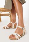 Beżowe Sandały Arila