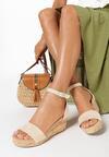 Beżowe Sandały Allufer