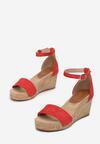 Czerwone Sandały Allufer