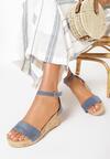 Niebieskie Sandały Allufer