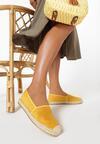 Żółte Espadryle Kleorelia