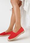 Czerwone Espadryle Kleorelia