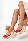 Czerwone Sandały Perisine