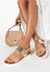 Beżowe Sandały Laifa