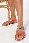 Czerwone Sandały Miscalculate