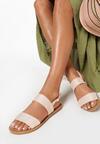 Beżowe Sandały Winnie